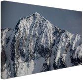 Himalaya gebergte India Canvas 30x20 cm - Foto print op Canvas schilderij (Wanddecoratie)
