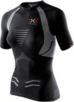 X-Bionic Running The Trick  Sportshirt - Maat M  - Vrouwen - zwart/wit