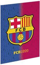 Schrift barcelona FCB1899 A4 geruit