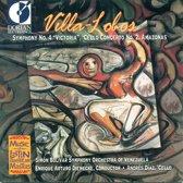 Villa-Lobos: Symphony no 4, Amazonas, etc / Diaz, Diemecke