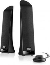 Hercules 2.0 Slim USB - 2.0 Speakerset - 2.5 Watt - Zwart