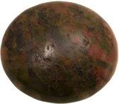 Natuursteen Cabochon (14 mm) Unakite (2 Stuks)