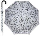 Paraplu Wit G-Sleutel