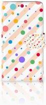 LG Q6 | LG Q6 Plus Boekhoesje Design Dots