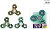 Fidget Spinner Hand Spinner chrome (per stuk assorti)