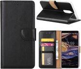 Boekmodel Hoesje Nokia 7 Plus - Zwart