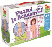 Jumbo Puzzel Je Lichaam - Puzzel - 30 stukjes