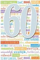 Cijferkaart met muziek 60!