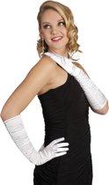 Handschoenen Opera Hollywood Satijn - Wit