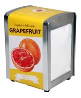 Tissue Dispenser Grapefruit