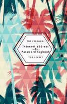 The Peersonal Internet Address & Password Logbook Top Secret