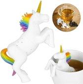 Eenhoorn thee-ei - Unicorn tea infuser - Grappig Theefilter voor losse thee