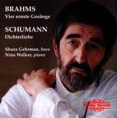 Vier Ernste Gesange/ Dieterliebe/ Gehrman/ Walker