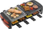 Bestron ARC800 - Raclette/Steengrill - 8 Personen