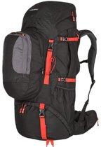 Husky rugzak Expeditie Samont backpack 60 + 10 liter - Zwart met Rood