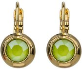 Camps & Camps oorbel-1D837CLI Crystal Lime