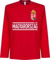 Hongarije Longsleeve Team T-Shirt - L