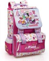 Disney Minnie Mouse en Katrien Rugzak - Kinderen - Roze