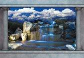 Fotobehang Waterfall    L - 152.5cm x 104cm   130g/m2 Vlies