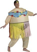Opblaasbaar kostuum  - Verkeeldkleding -  Hula Hula
