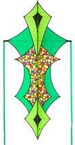 Hq Kites Eenlijnsvlieger Hoffmanns Xelon Dazzling Colors 104 Cm Groen