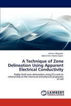 A Technique of Zone Delineation Using Apparent Electrical Conductivity