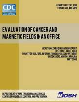 Evaluation of Cancer and Magnetic Fields in an Office