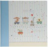 GOLDBUCH GOL-15418 Babyalbum ANIMAL TRAIN blauw als Fotoboek