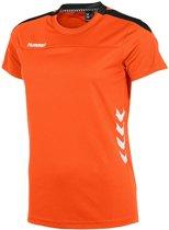 Hummel Valencia Dames T-Shirt - Voetbalshirts  - oranje - XS