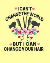 I Can't Change The World But I Can Change Your Hair