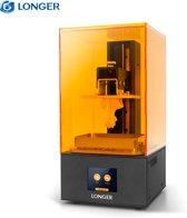 LONGER SLA 3D-printer Orange 10, hars 3D-printer met touchscreen, off-line afdrukken Build-formaat 3,86 x 2,17 x 5,5 inch