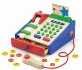 Viga Toys - Speelgoed Kassa - Inclusief Accessoires