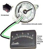 LPG gasfles indicator met plak strip
