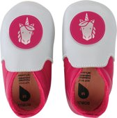 Bobux - Soft Soles Giants - Silver & fuchsia unicorn loafer - Babyslofjes - EU 28