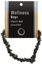 Splitarmband Onyx - met Uitleg Kaartje