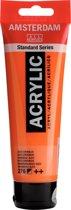 Amsterdam Standard acrylverf tube 120ml - Azo oranje - halfdekkend