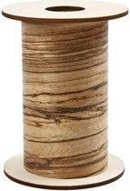 Hout fineer, b: 10 cm, dikte 0,08 mm, 8 m