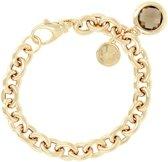 Bronzallure Chain Bracelet with Gemstone Yellow Gold (WSBZ00027Y)