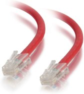 C2G Cat5E Assembled UTP Patch Cable Red 1m