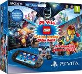 Sony PlayStation Vita Handheld Slim Console WiFi + LEGO Action Heroes Mega Pack + 8GB Memory Card - Zwart PS Vita Bundel