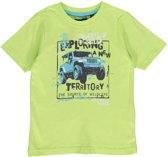 Blue Seven Jongens T-shirt - Lime - Maat 116
