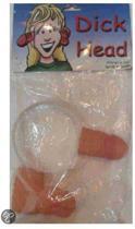 Diadeem penis door hoofd