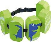 Beco Sealife – Zwemgordel met 5 drijvers – Lesgordel – Zwemkurkjes voor kinderen van 15-30 kg en ca. 2-6 jaar - Groen