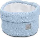 Jollein Soft knit Mandje soft blue