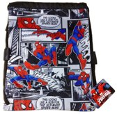 SPIDER-MAN Comicbook Zwemtas Sport Tas School Tas Rugzak Spiderman