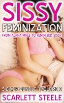Sissy Feminization: From Alpha Male to Feminized Sissy - 5 Book Bundle - Volume 3