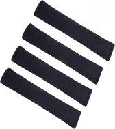 Gordelhoes - Gordelkussen - 4Stuks - Gordelbeschermer - Gordel - Comfort - 2Paar - Zwart