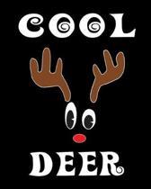 Cool Deer: Deer Elk Antler Hunting Hobby 2020 Monthly Planner Dated Journal 8'' x 10'' 110 pages