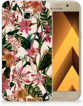 Samsung Galaxy A5 2017 Uniek TPU Hoesje Flowers