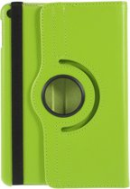 Shop4 - Apple iPad Mini 4 (2015) Hoes - Rotatie Cover Lychee Groen